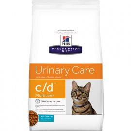 Hill's Prescription Diet c/d Multicare Urinary Care корм для кошек с океанической рыбой