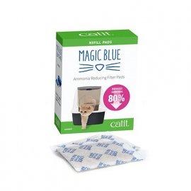 Hagen Catit Magic Blue Сменные пакеты для универсального картриджа с устранителем запаха для всех видов закрытых туалетов