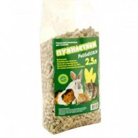 Пушистики Pellecorn Кукурузный пеллетированный наполнитель для грызунов, птиц и рептилий