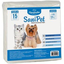 Природа SANIPET (САНИПЕТ ПЕЛЕНКИ) для собак и котов