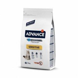 Advance (Эдванс) Cat Sensitive Salmon & Rice - корм для кошек с чувствительным кишечником (с лососем и рисом)