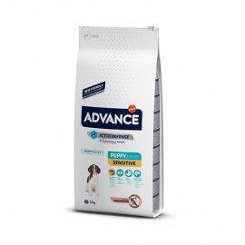 Advance (Эдванс) Dog Puppy Sensitive - корм для щенков с чувствительным пищеварением (лосось и рис)