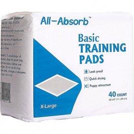 All Absorb (Олл Абсорб) BASIC TRAINING (БЕЙСИК ПРИВЛЕКАЮЩИЕ К ТУАЛЕТУ) пеленки для щенков и собак