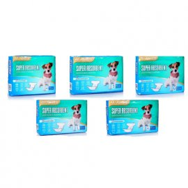 All Absorb Disposable Diapers - Гигиенические подгузники для собак (сук), 50 шт