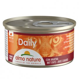 Almo Nature Daily MOUSSE DUCK консервы для кошек УТКА, мусс
