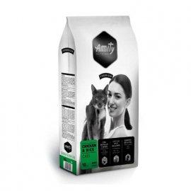 Amity CHICKEN & RICE корм для взрослых кошек КУРИЦА и РИС