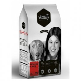 Amity CHICKEN & RICE корм для взрослых собак КУРИЦА И РИС