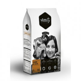 Amity LAMB & RICE корм для взрослых собак ЯГНЕНОК и РИС