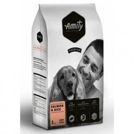 Amity SALMON & RICE гипоаллергенный корм для собак ЛОСОСЬ И РИС