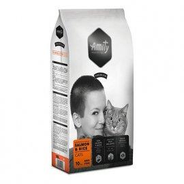 Amity SALMON & RICE корм для взрослых кошек ЛОСОСЬ И РИС