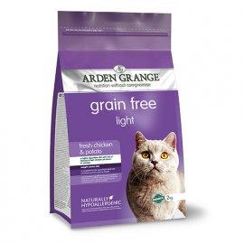 Arden Grange (Арден Грендж) Adult Light - беззерновой сухой корм для взрослых кошек (со свежей курицей и картофелем)