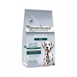 Arden Grange (Арден Грендж) Adult Sensitive - сухой корм для собак с деликатным желудком и чувствительной кожей (океаническая белая рыба и картофель)
