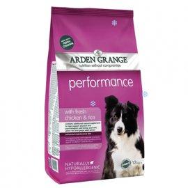 Arden Grange Perfomancе - сухой корм для взрослых активных собак (курица и рис)