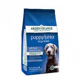 Arden Grange (Арден Грендж) Puppy/Junior Large Breed - сухой корм для щенков и молодых собак крупных пород от 2 до 14 месяцев (с курицей и рисом)