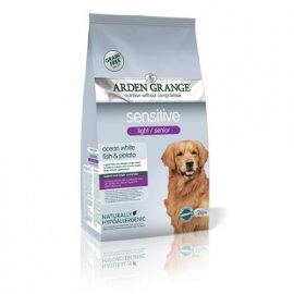 Arden Grange Sensitive Light/Senior - сухой корм для собак с избыточным весом и собак преклонного возраста (белая рыба и картофель)