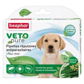 Beaphar - Биокапли VETO pure от блох и клещей для щенков с 12 недельного возраста