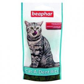 Beaphar Cat-a-Dent Bits (Дент Битс) лакомство - уход за зубами у кошек
