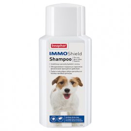 Beaphar IMMO SHIELD SHAMPOO шампунь от паразитов для собак, 200 мл