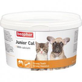 Beaphar Junior Cal - Витаминно-минеральная пищевая для щенков и котят 200 г