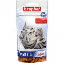 Beaphar MALT-BITS Light Лакомство с мальт-пастой для кошек, склонных к лишнему весу 35 г