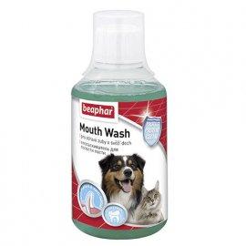 Beaphar MOUTH WASH - Жидкость от неприятного запаха и чистки зубов у собак и кошек
