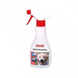 BEAPHAR Quick Washing Shampoo - Экспресс-шампунь для быстрого очищения кожи и шерсти, 250 мл