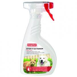 Beaphar STOP IT EXTERIER отпугивающий спрей для собак и кошек вне помещения, 400 мл