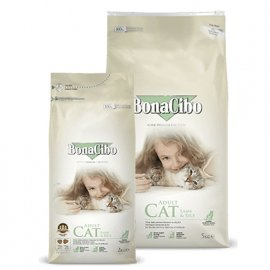BonaCibo ADULT CAT LAMB & RICE сухой корм для кошек ЯГНЕНОК И РИС