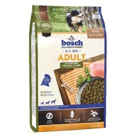 Bosch (Бош) ADULT GEFLUGEL & HIRSE (ПТИЦА И ПРОСО) корм для собак