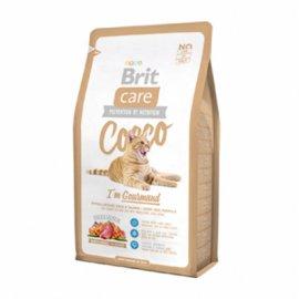 Brit Care COCCO Gourmand - корм для привередливых кошек (утка/лосось)