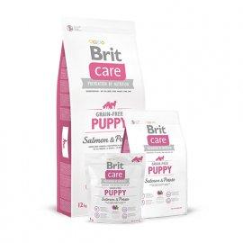 Brit Care Grain-free Puppy Salmon & Potato Беззерновой корм для щенков и молодых собак всех пород с лососем и картофелем