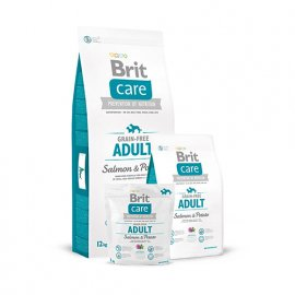 Brit Care Grain-free All Breed Salmon & Potato Беззерновой корм для собак средних пород с лососем и картофелем