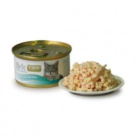 Brit Care Kitten Chicken - Консервированный корм для котят КУРИЦА 80 г