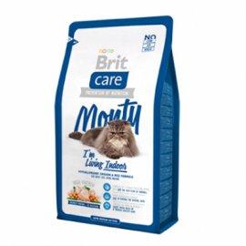Brit Care MONTY Indoor - корм для домашних кошек (курица/рис)