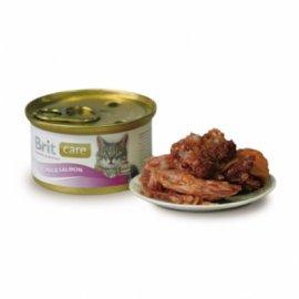 Brit Care Tuna and Salmon - Консервированный корм для взрослых кошек ТУНЕЦ И ЛОСОСЬ