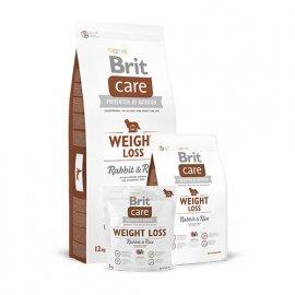 Brit Care Weight Loss - Корм для собак с избыточным весом с КРОЛИКОМ и РИСОМ