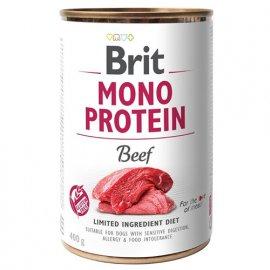 Brit MONO PROTEIN BEEF (ГОВЯДИНА) консервы для собак