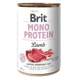Brit MONO PROTEIN LAMB (ЯГНЕНОК) консервы для собак