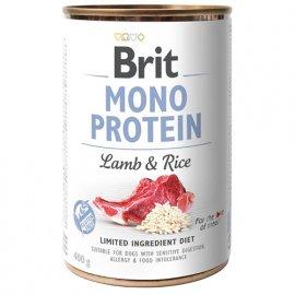 Brit MONO PROTEIN LAMB & RICE (ЯГНЕНОК & РИС) консервы для собак