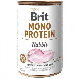 Brit MONO PROTEIN RABBIT (КРОЛИК) консервы для собак