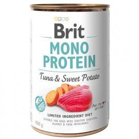 Brit MONO PROTEIN TUNA & SWEET POTATO (ТУНЕЦ & СЛАДКИЙ КАРТОФЕЛЬ) консервы для собак