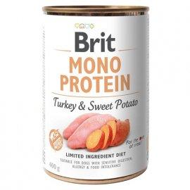 Brit MONO PROTEIN TURKEY & SWEET POTATO (ИНДЕЙКА & СЛАДКИЙ КАРТОФЕЛЬ) консервы для собак (СКИДКА 10%)