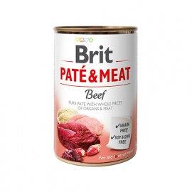 Brit PATE & MEAT BEEF (ГОВЯДИНА В ПАШТЕТЕ) консервы для собак
