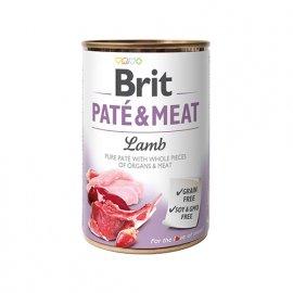 Brit PATE & MEAT LAMB (ЯГНЕНОК В ПАШТЕТЕ) консервы для собак