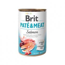 Brit PATE & MEAT SALMON (ЛОСОСЬ В ПАШТЕТЕ) консервы для собак