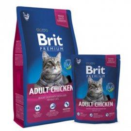 BRIT Premium Cat Adult Chicken - Корм для взрослых кошек КУРИЦА С СОУСОМ ИЗ КУРИНОЙ ПЕЧЕНИ