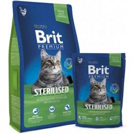 BRIT Premium Cat Sterilized - Корм для кастрированных котов и стерилизованных кошек НЕЖНАЯ КУРИЦА С КУРИНОЙ ПЕЧЕНЬЮ