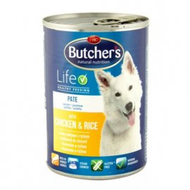 Butcher`s (Бутчерс) BASIС CHICKEN&RICE (КУРИЦА И РИС) консервы для собак
