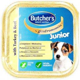Butcher`s (Бутчерс) JUNIOR TURKEY & BEEF (ЮНИОР ИНДЕЙКА И ГОВЯДИНА) консервы для щенков, 150 г
