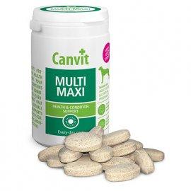 Canvit MULTI MAXI мультивитаминные таблетки для собак крупных пород, 230 г